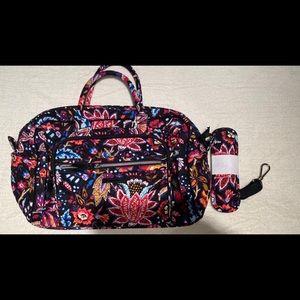 Vera Bradley compact weekender Travel bag Foxwood